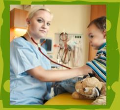 Kinder- und Jugendlichenpflege